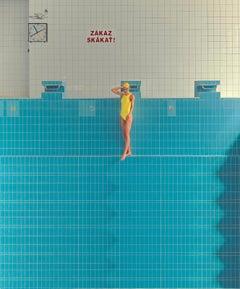 No Diving, Horizon by Maria Svarbova
