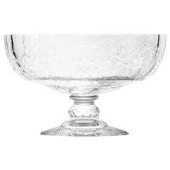 Maria Theresa Bowl Hand Engraved Marie Theresa Motif Clear