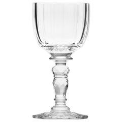 Maria Theresa Red Wine Crystal Goblet Clear, 9.8 Oz