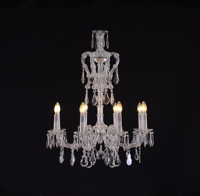 Maria Theresien Style Crystal Chandelier 4