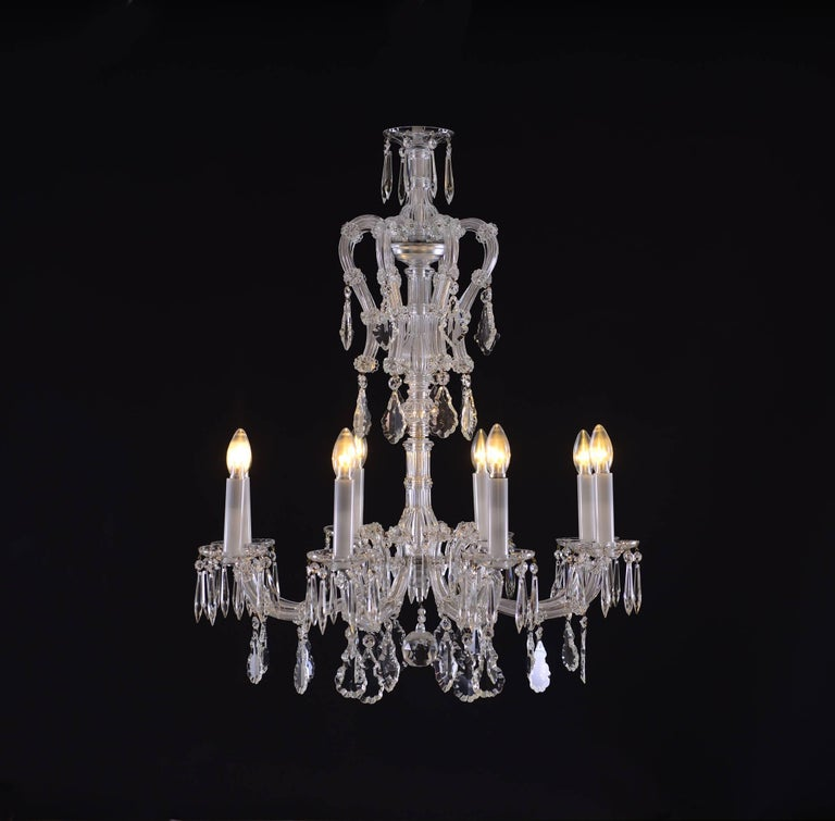 Maria Theresien Style Crystal Chandelier 2