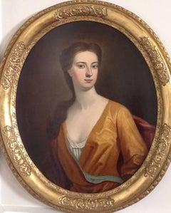 English 18th Century School, Portrait of a Lady