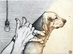 Hound. Something like that - Figurative print, Animals, Dog