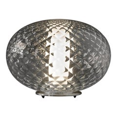 Mariana Pellegrino Soto Table Lamp 'Recuerdo' Textured Blown-Glass by Oluce