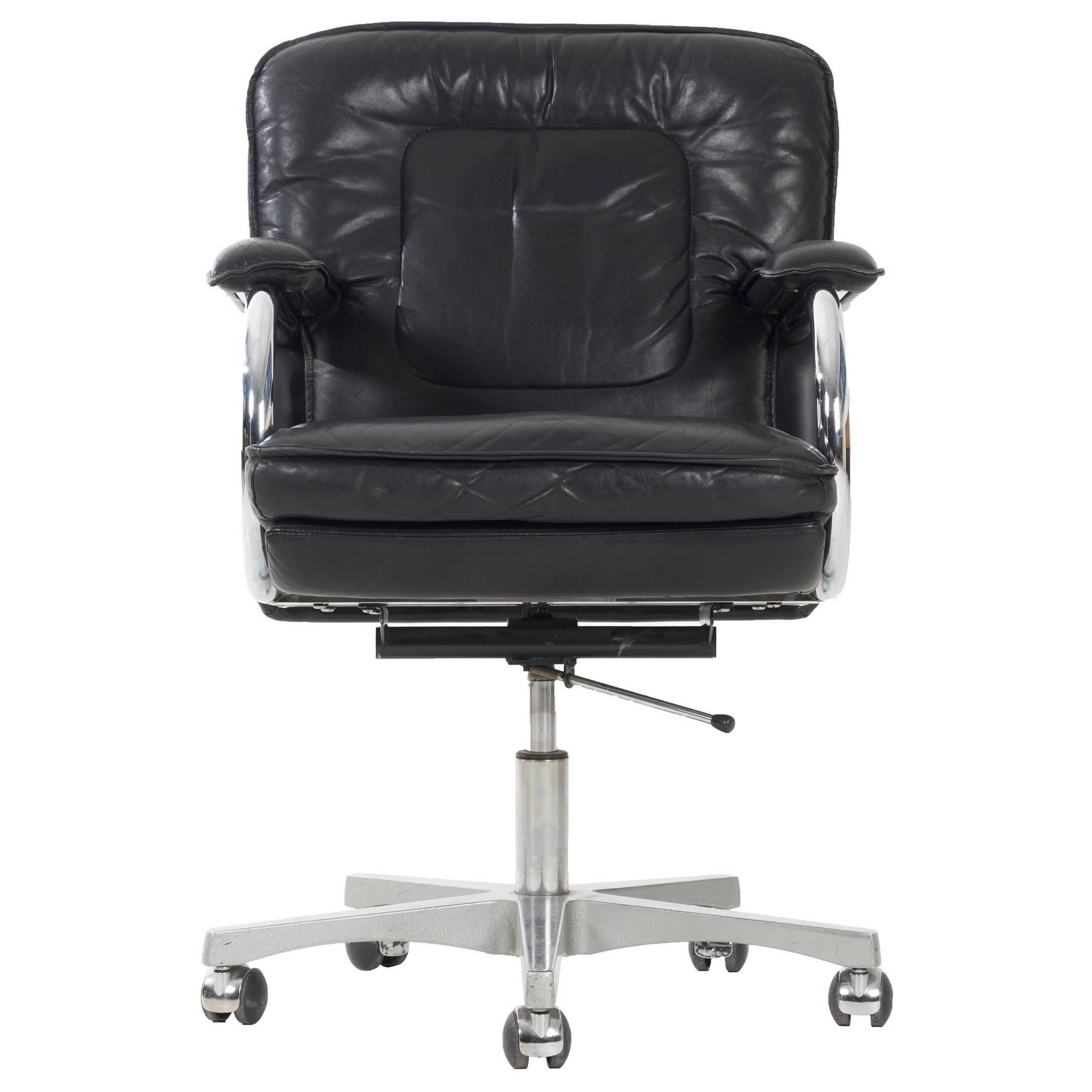 Frank Mariani Leather Desk Chair