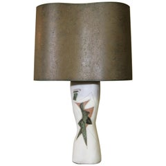 Marianna von Allesch Abstract Design Lamp with Original Shade