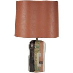 Marianna von Allesch Cubist Midcentury Table Lamp