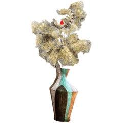 Marianna von Allesch Modern Ceramic Sculptural Lamp Midcentury Organic Modern