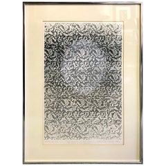 Marianne Heske Norwegian Signed Limited Edition Lithograph, 1977