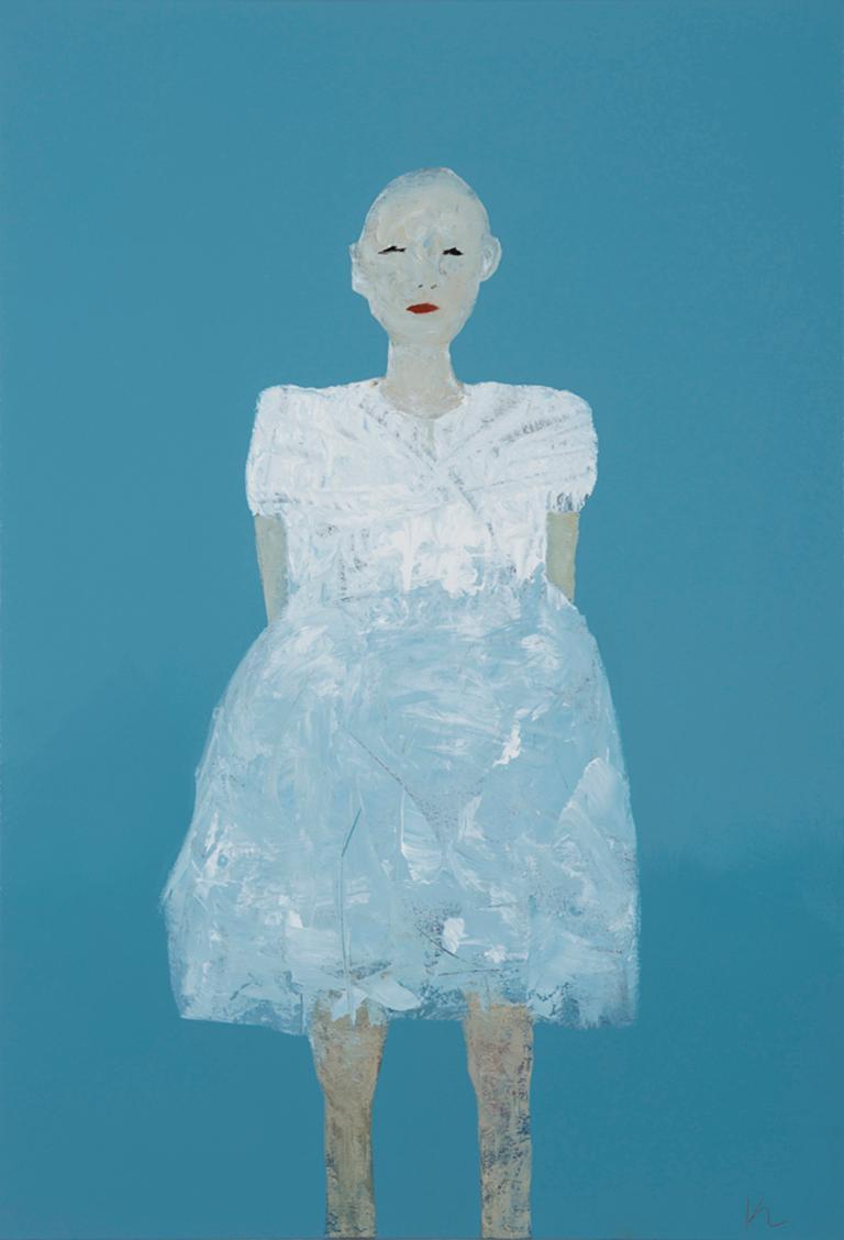 Marianne Kolb Abstract Painting - Hannah
