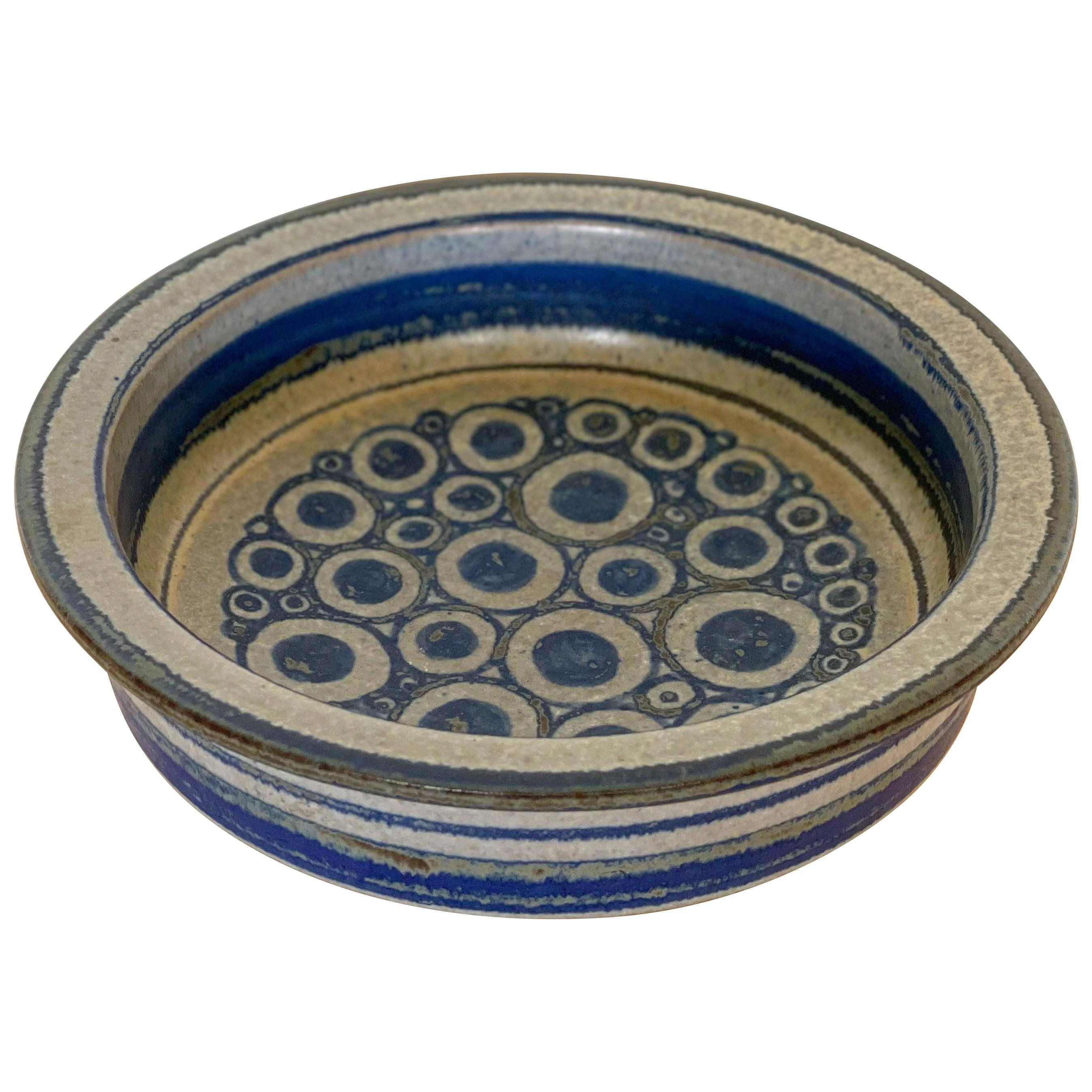 Marianne Starck for Michael Andersen Danish Modern Ceramic Bowl Persia Glaze