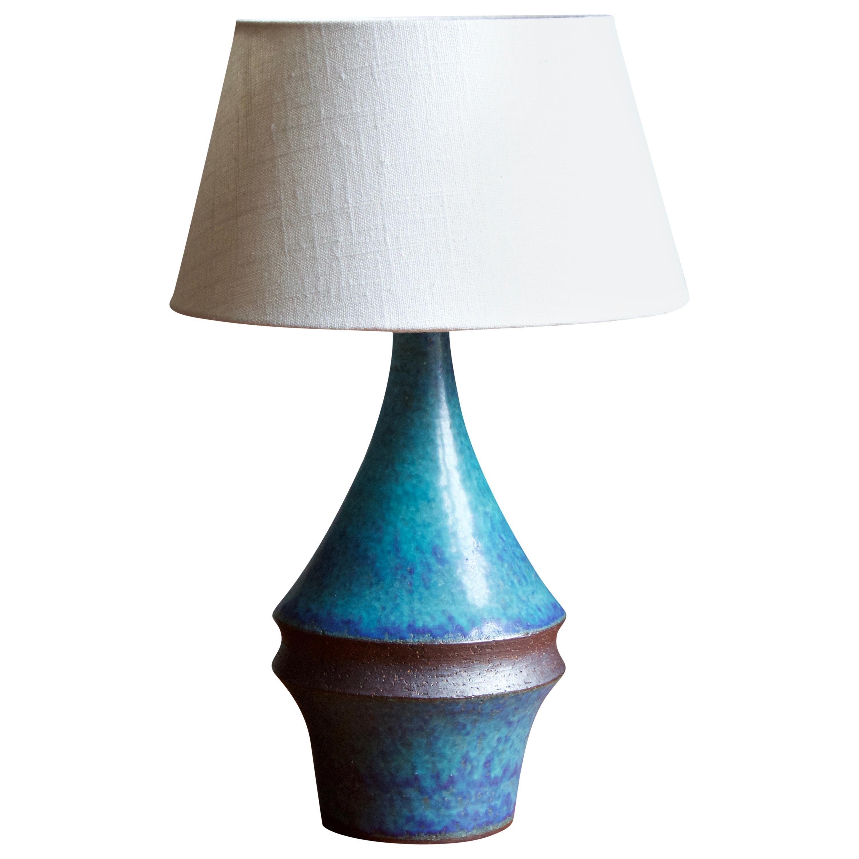 Marianne Starck, Table Lamp, Stoneware, Michael Andersen, Denmark, 1960s