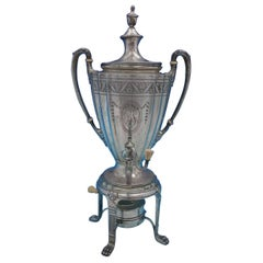 Marie Antoinette Chased by Dominick & Haff Sterling Silver Coffee Urn