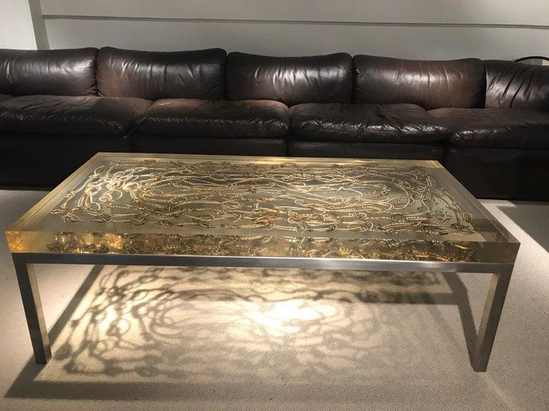 Marie Claude de Fouquieres Resin Table For Sale 7