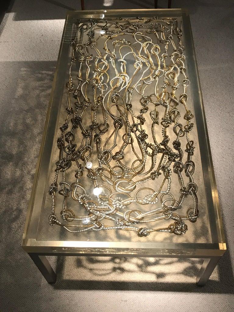 Marie Claude de Fouquieres Resin Table For Sale 3
