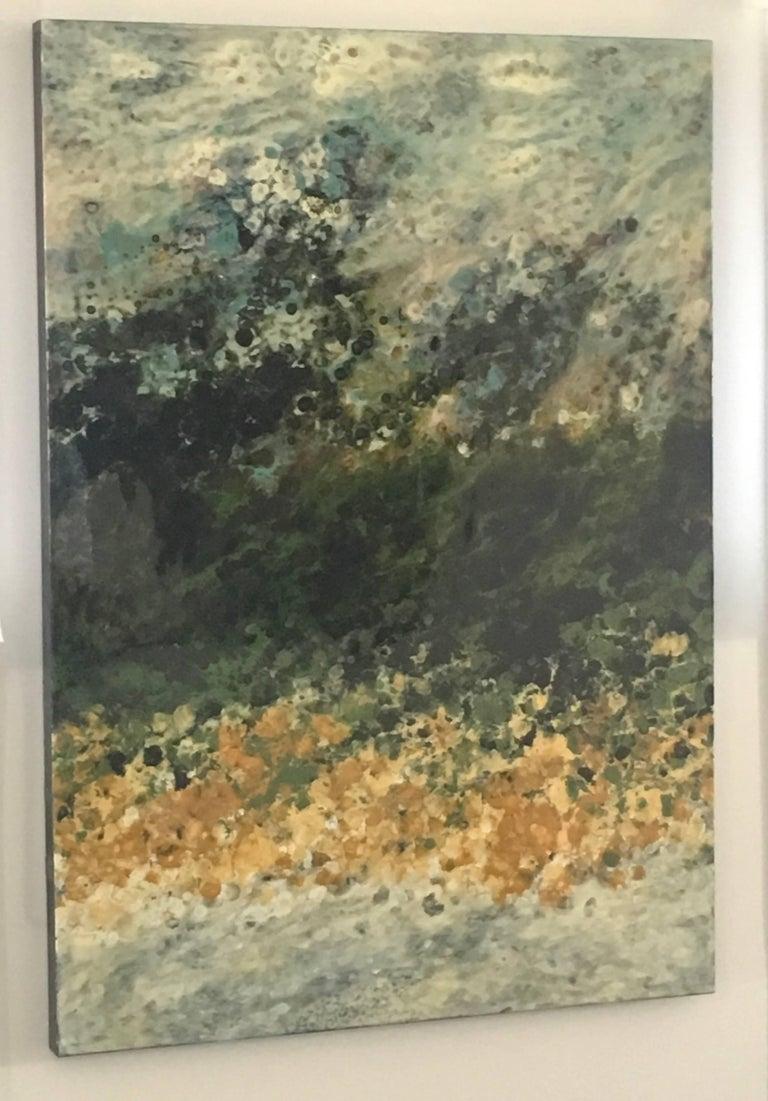 Marie Danielle Leblanc Landscape Painting - Ile Perot