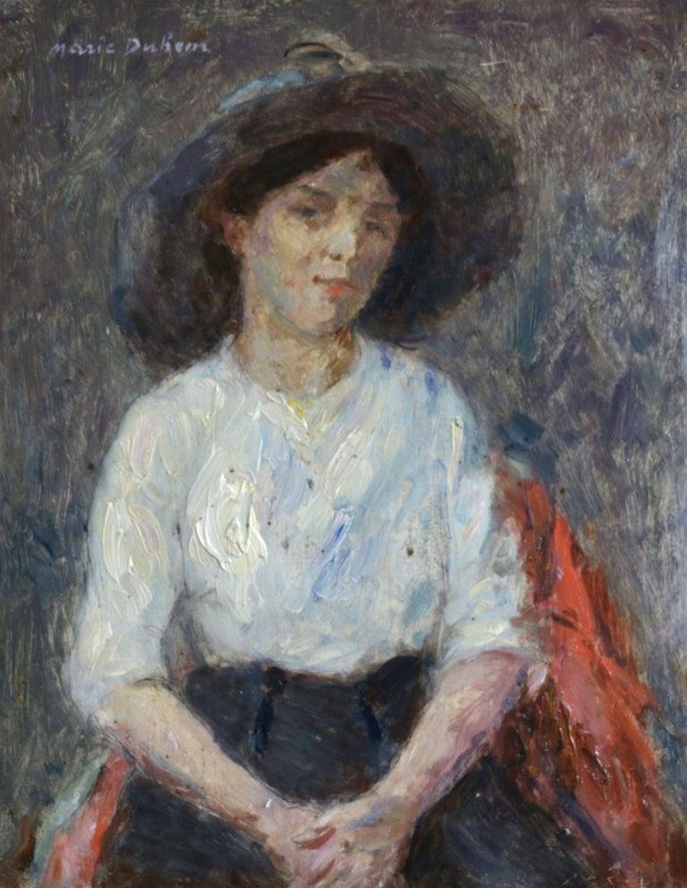 Marie Duhem Portrait Painting - Portrait of Nelly