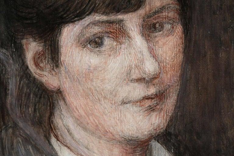 Self Portrait - Painting by Marie Duhem