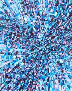 Fragmentation - Falling In, Abstract Painting
