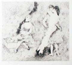 Le Bal - Original Etching by Marie Laurencin - 1927