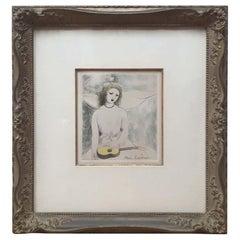 Marie Laurencin Original Etching