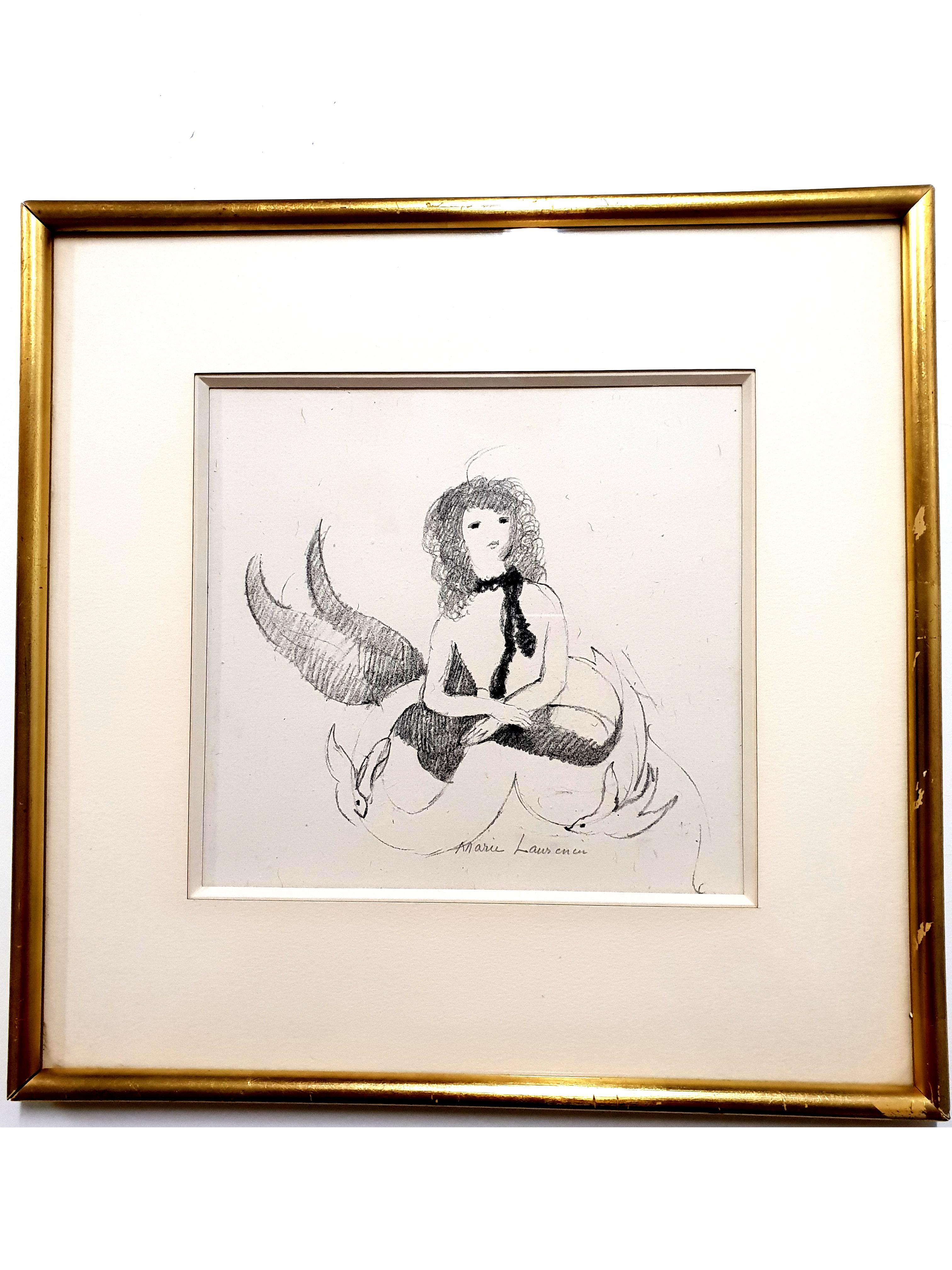 Marie Laurencin - Woman - Original Signed Etching