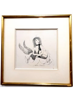 Marie Laurencin - Woman - Original Signed Etching