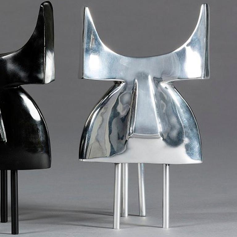 Pablo, Animal Bronze Sculpture (Bull) For Sale 2