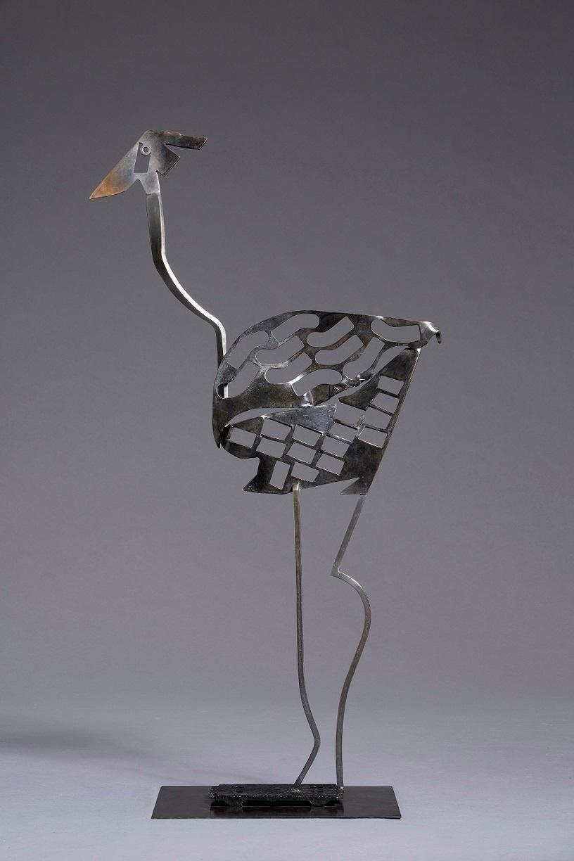 Tara - Animal Bronze Sculpture (Ostrich)