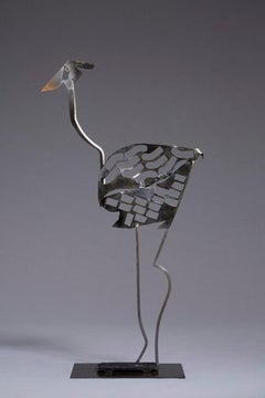 Tara - Animal Bronze Sculpture (Ostrich)