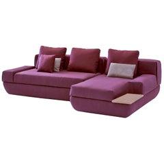 Marie Modular Sofa Plum by Sara Ferrari