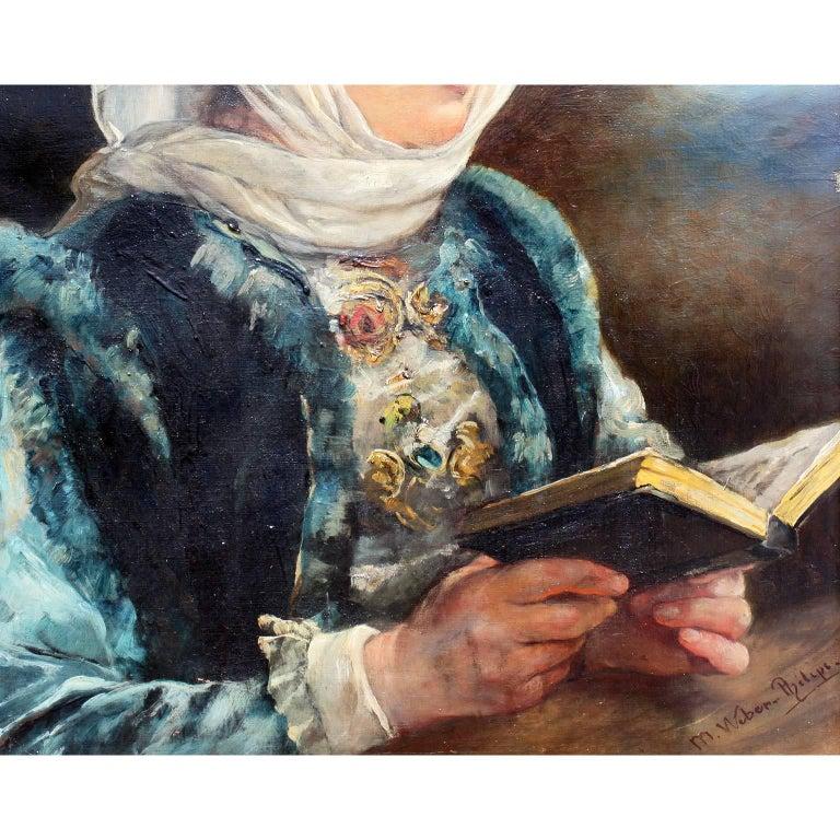 German Marie Philips-Weber Oil on Canvas