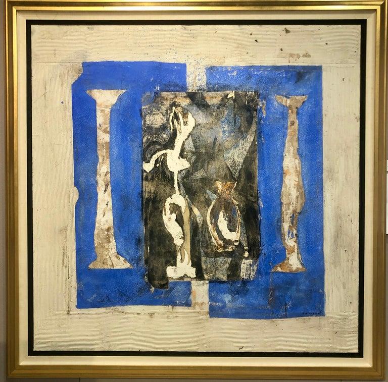 Pierre Marie Brisson Abstract Painting - Jardine Secret