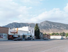 Number Hill, small western town, contemporary documentary photography, landscape