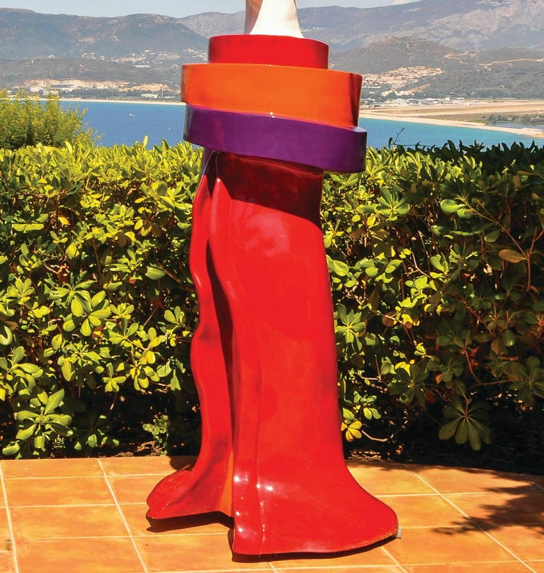 Gueishas - Monumental Contemporary Resin Outdoor Scuptures For Sale 7