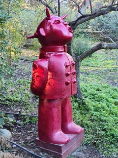 Visiteur Boudeur - Monumental Contemporary Resin Outdoor Sculpture
