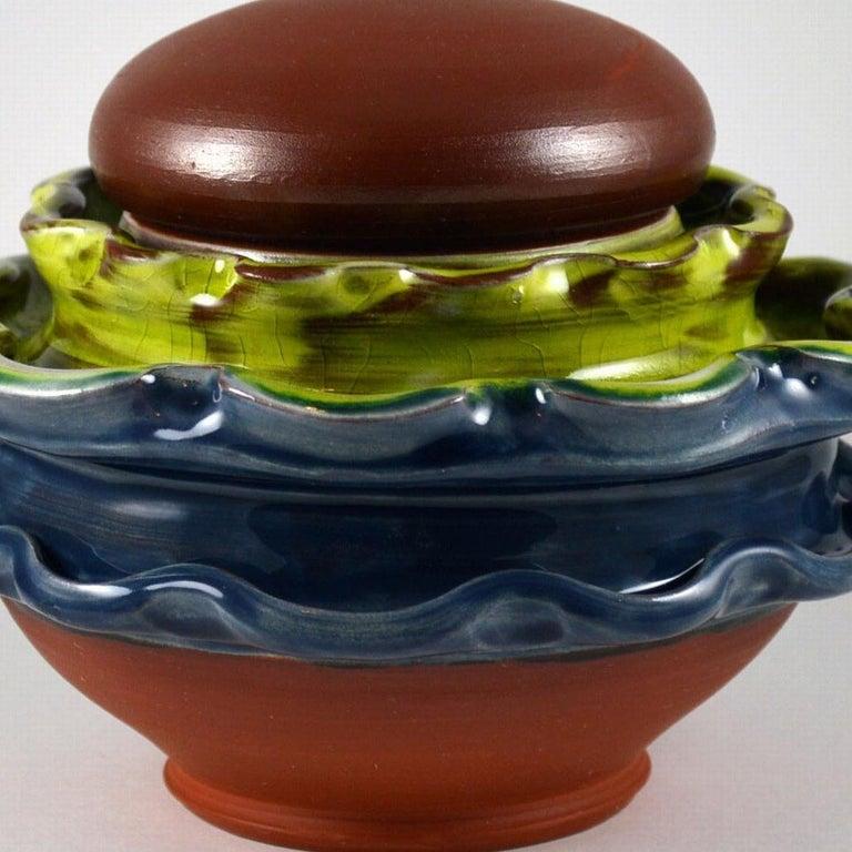 Coffee Jar - Sculpture by Mariko Brown Harkin