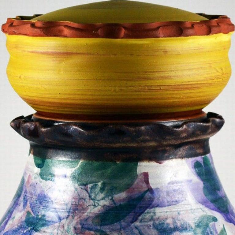 Sweets Jar - Sculpture by Mariko Brown Harkin