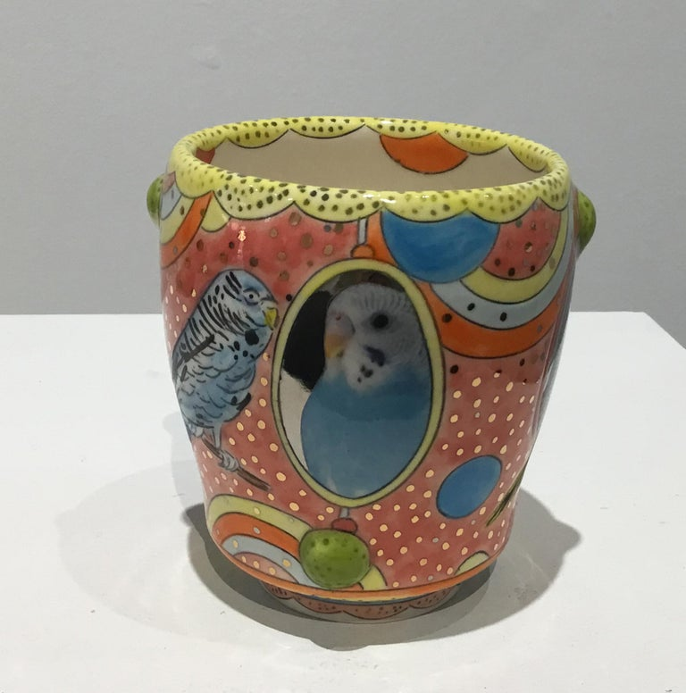 Mariko Paterson Abstract Sculpture - Budgie Yunomis 4