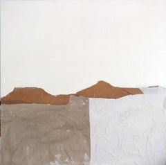 PaperLandscape, Mixed Media on Canvas