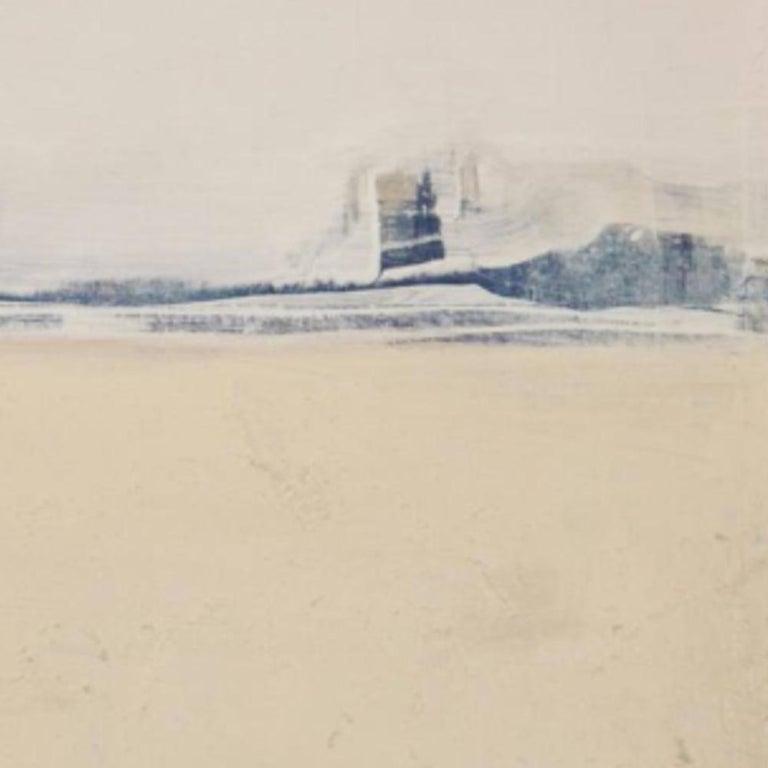 Blue Landscape, Marilina Marchica, Minimalist Abstract, Landscape, Pastel Color For Sale 1