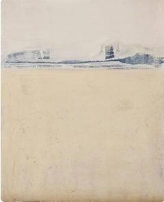 Blue Landscape, Marilina Marchica, Minimalist Abstract, Landscape, Pastel Color