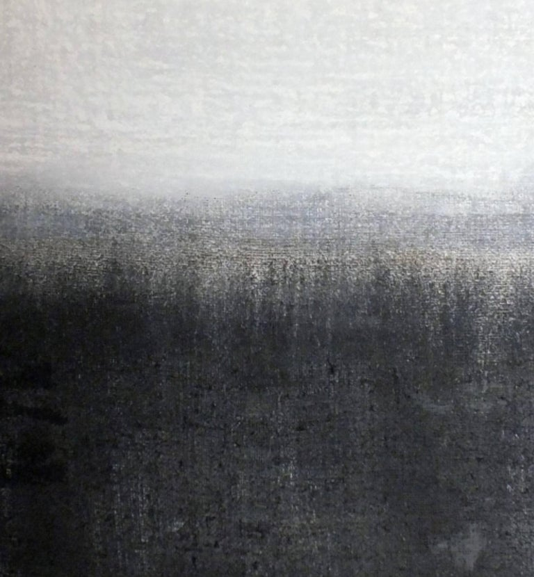 'Landscape 21' is an original minimalist abstract painting on canvas by emerging Sicilian artist - Marilina Marchica. It is a mixed media art piece which has a rich texture and authentic design. The subject is focused on Italian nature, sea views,