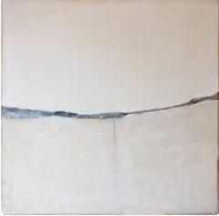 Landscape 51, Marilina Marchica, Minimalist Abstract, White Mixed-media, Nature
