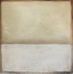 Landscape 59, Marilina Marchica, Abstract Mixed Media, Minimalist, Gold, Yellow