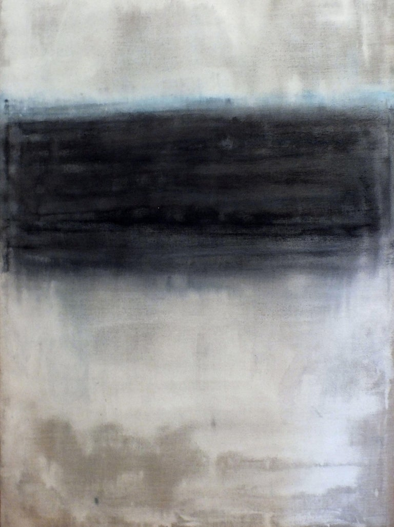 Marilina Marchica Abstract Painting - Landscape, Painting, Oil on Canvas