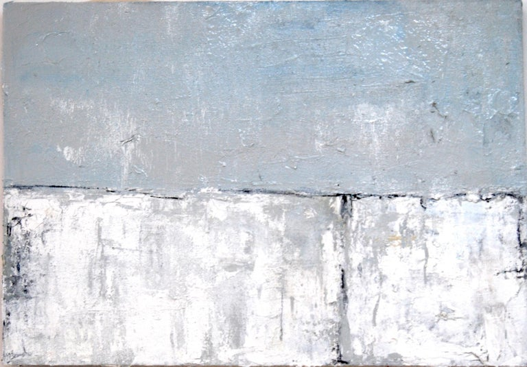 Marilina Marchica Abstract Painting - Wall#, Painting, Oil on Canvas