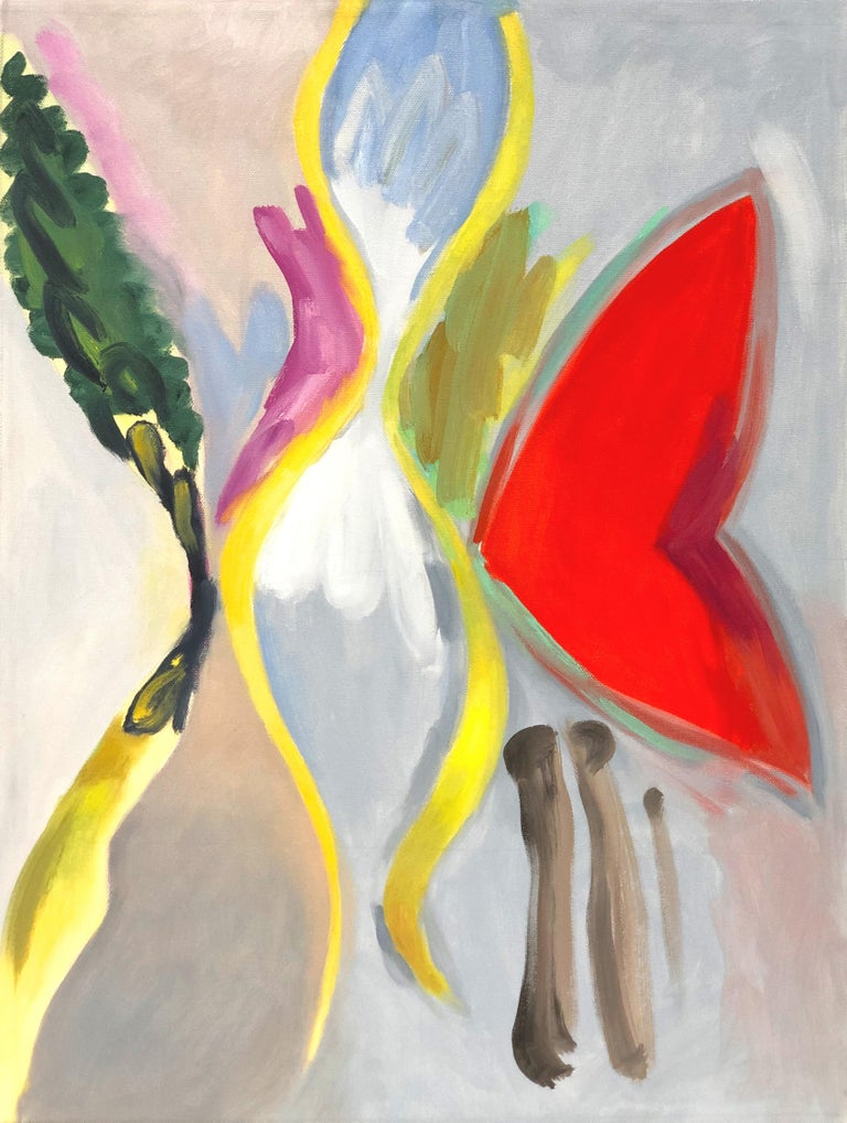 Marilyn Davidson Abstract Painting - New Valentine