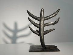 """The Crisis"", a unique cast bronze reflects on mystic transcendence"