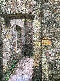 Lismore Ireland 1, Mixed Media on Canvas